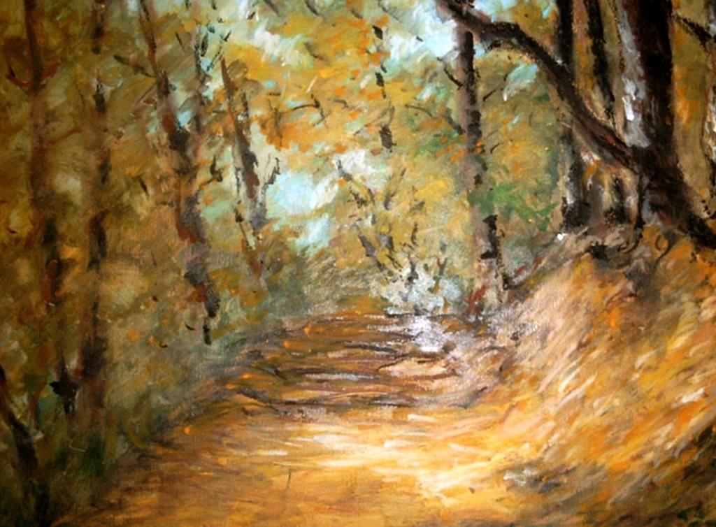 wolski ryszard poezja leśny wąwóz łąck